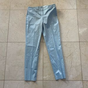Hugo Boss NWT $350 Tiluna Trousers Sz 2 Light Blue